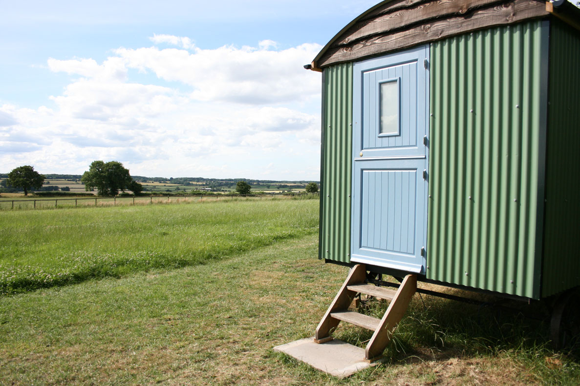 Shepherds Hut - Hilltop Hideaways